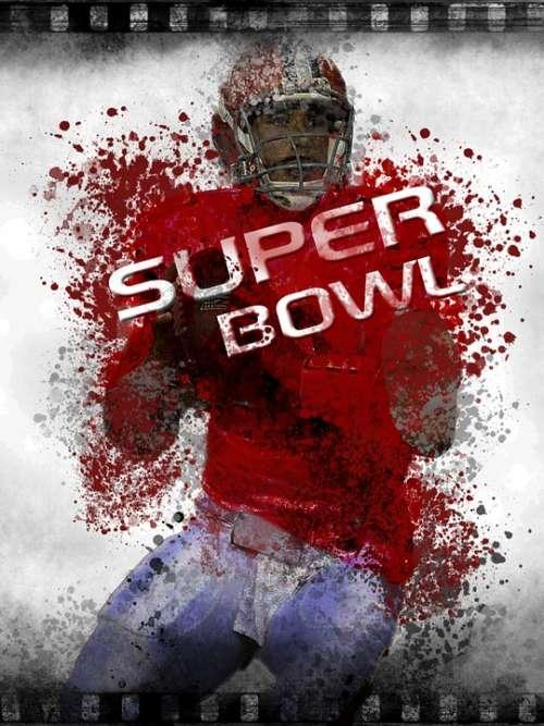 Football Player Man Human Sport Event Super Bowl