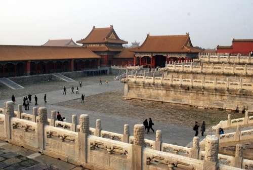 Forbidden City Beijing Emperor China Dynasty