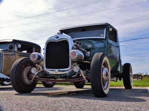Ford Model A Antique Antique Car Hot Rod