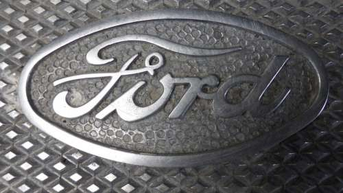 Ford Logo Plaque Oldtimer Automotive Auto Vehicle