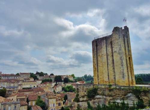 Fort Fortification Saint-Emilion France Village