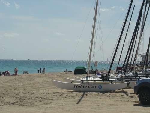 Fort Lauderdale Beach Florida Atlantic Ocean Sand