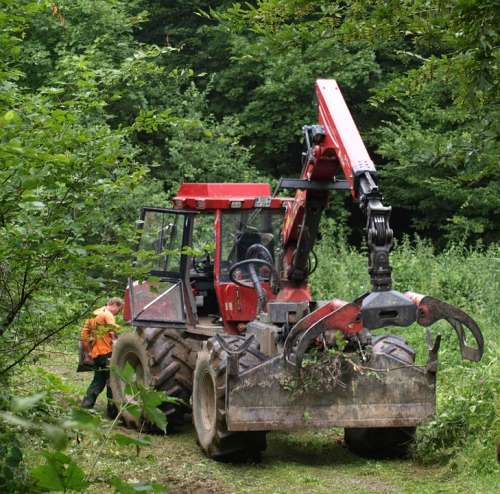 Fort Bend Tug Forestry Work Machine Forest