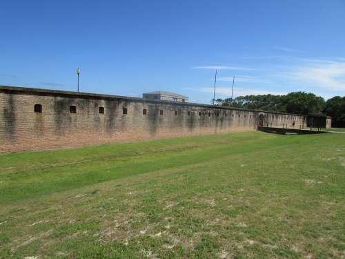 Fort Gaines Alabama Dauphin Island