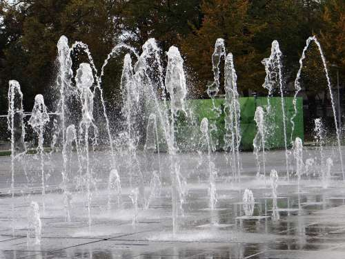 Fountain Drip Water Colmar Rapp Space Inject