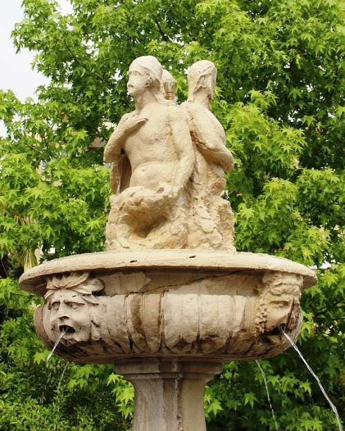 Fountain Antique Art Architecture