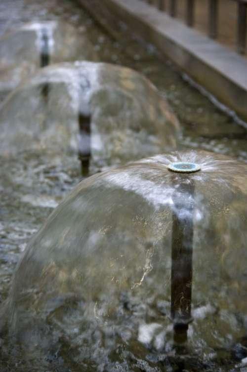 Fountain Hemisphere Water Summer Wet Going On