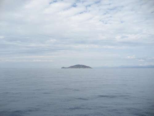 Fourka Greece Sea Water Beach Ocean Clouds