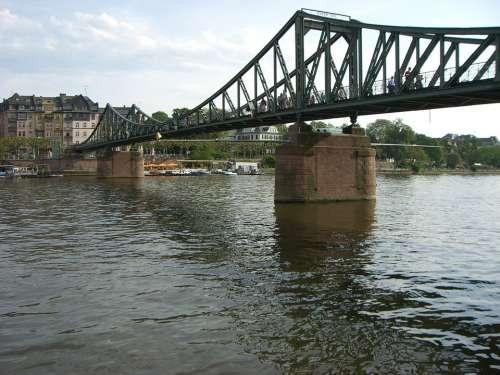 Frankfurt Main Bridge