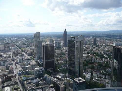 Frankfurt City Skyscraper Financial District