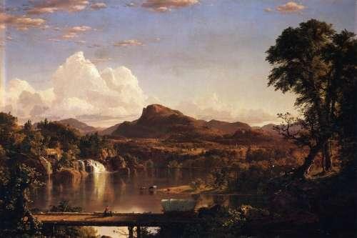 Frederic Church Landscape Painting Art Artistic