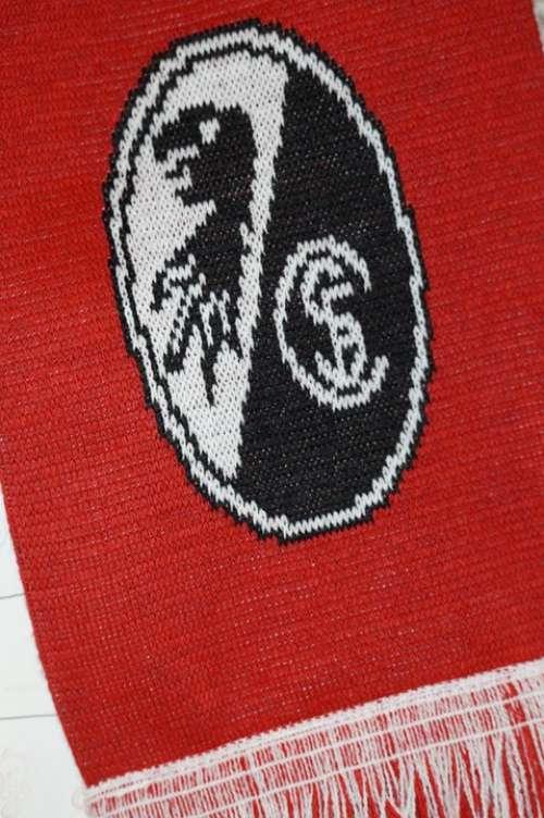 Freiburg Fanartikel Scarf Emblem Logo