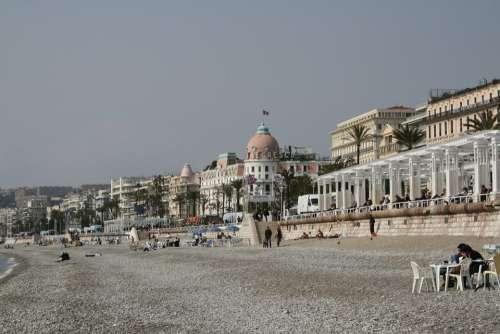 French Riviera Côte D ' Azur Beach Sand Sea