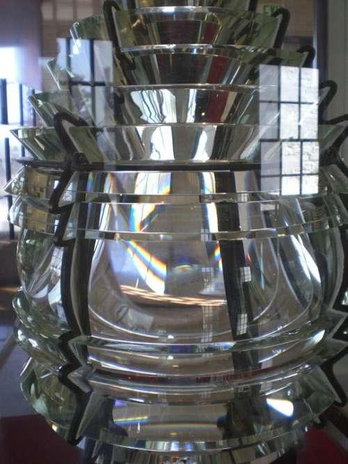 Fresnel Lens Lighthouse Nautical