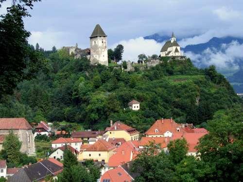 Friesach City Castle Carinthia Building