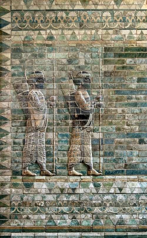Frieze Facade Archers Louvre Wall Art