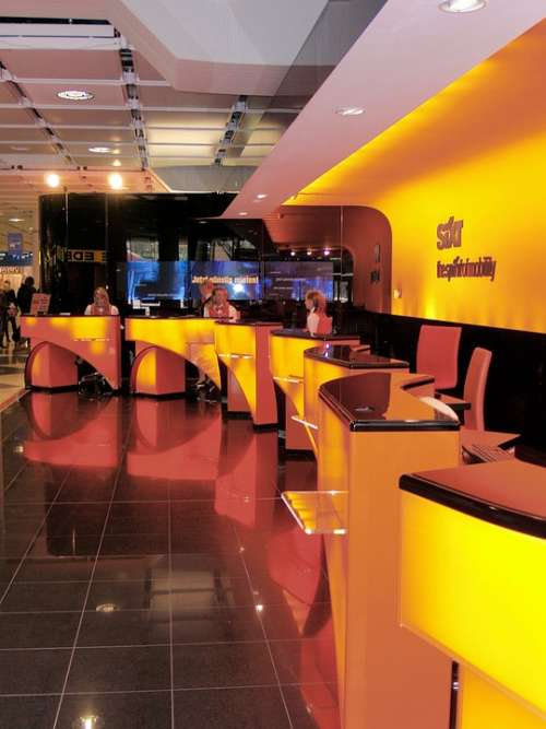 Front Desk Airport Munich Germany Car Rental Sixt