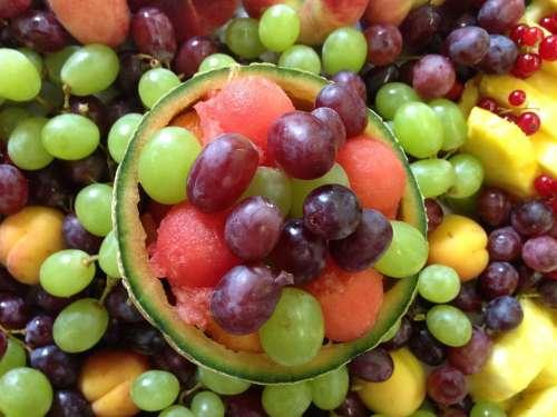 Fruit Grapes Melon Currants Colorful