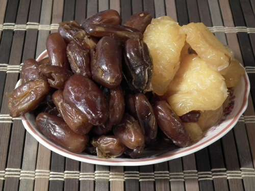 Fruit Dates Dried Fruits Peaches Sweet Food