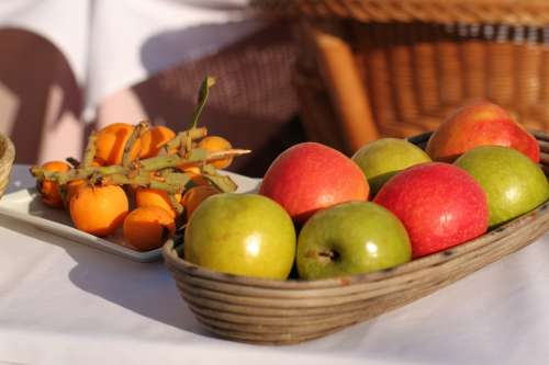 Fruit Vitamins Fruits Apple Food Healthy Eat
