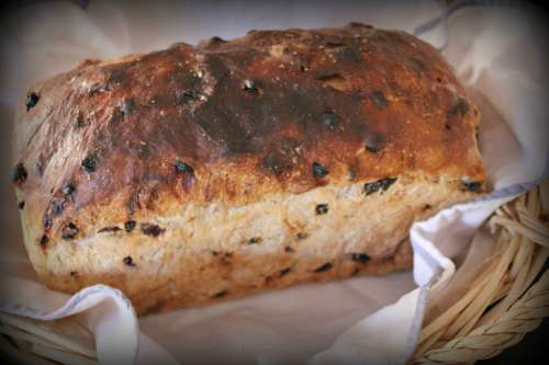 Fruit Loaf Bread Loaf Delicious Bakery Organic