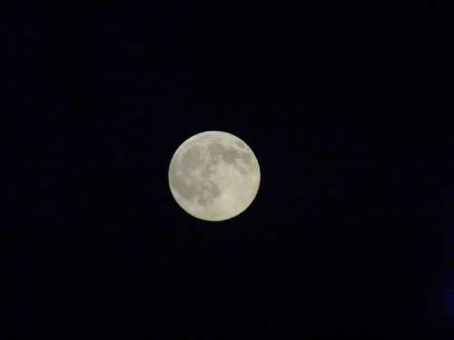 Full Moon Moon Shine Night Dark Nightsky