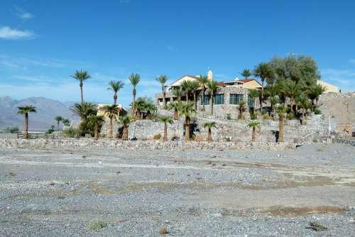 Furnace Creek Resort Desert Oasis Death Valley