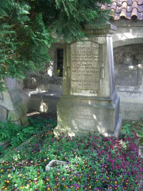 Füssen Allgäu Old Cemetery Tombstone