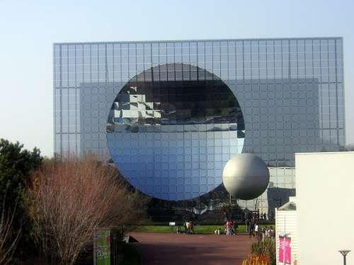 Futuroscope Glass Architecture Building