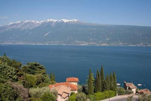 Garda Lake Mountains Villa Cypress Good View