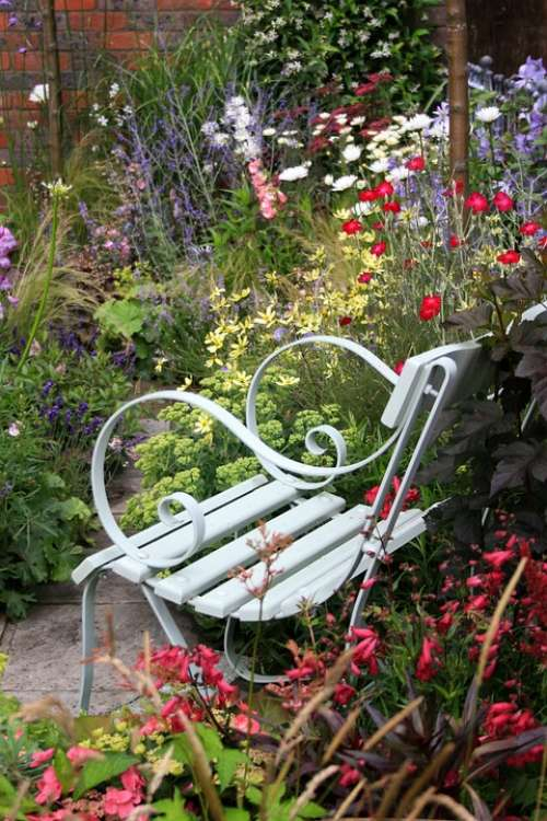 Garden Flora Outdoor Seat