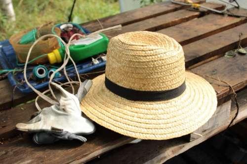 Garden Hat Straw Hat
