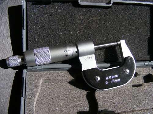 Gauge Measurement Mechanical Micrometer Precision
