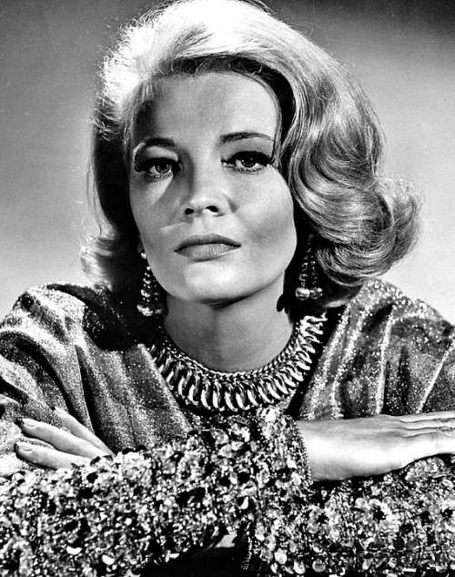 Gena Rowlands Actress Film Stage Television Retro