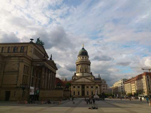 Gendarmenmarkt Berlin Capital Dom Dome Building
