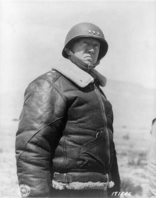 General George S Patton Jr Military Commander