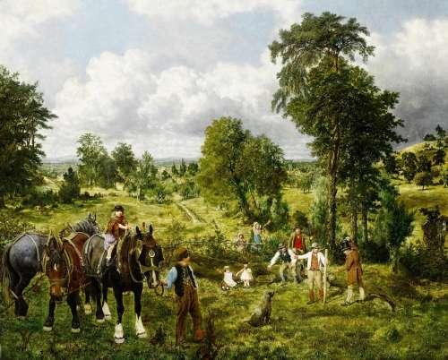 George Mote Painting Art Artistic Artistry