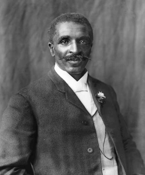 George Washington Carver Scientist Botanist Man