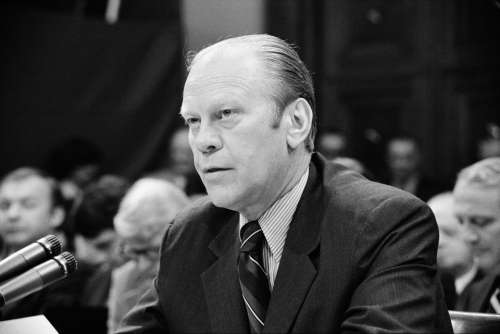 Gerald Ford President Usa United States Hearing