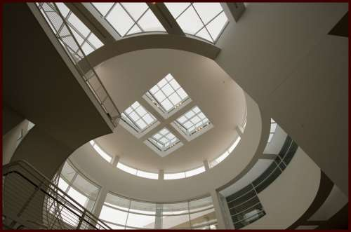 Getty Rotunda Museum Gallery Architecture Art