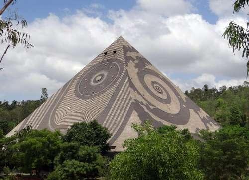 Giant Pyramid Meditation Yoga Pyramid Valley