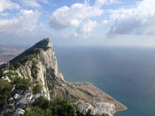 Gibraltar Rock Travel Europe Tourism Spain
