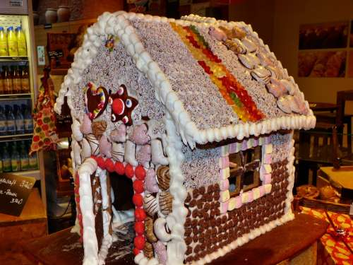 Gingerbread House Boys Christmas Time Christmas