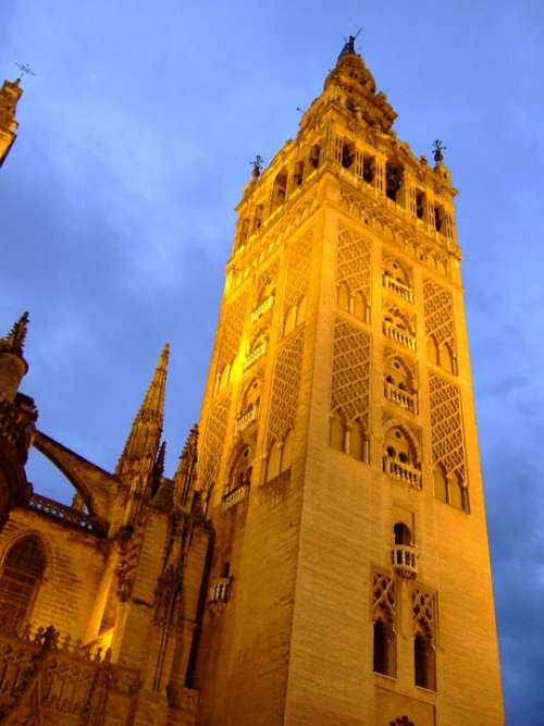 Giralda Tower Seville Cathedral Spain Monuments
