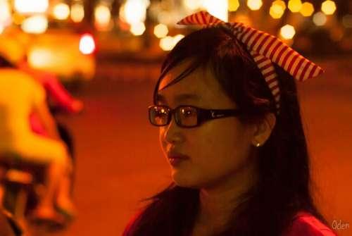 Girl Saigon Face Beauty Female Little Girl