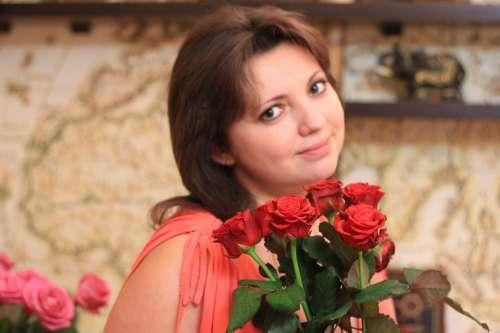 Girl Rose Bouquet Odor