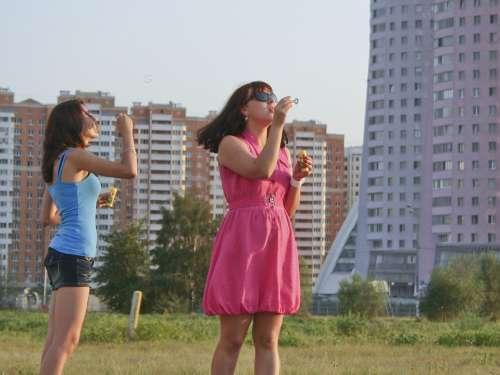 Girls Summer Bubbles