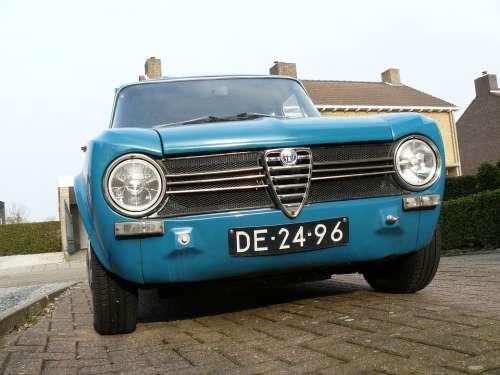 Giulia Alfa Romeo Italy Oldtimer Sportive