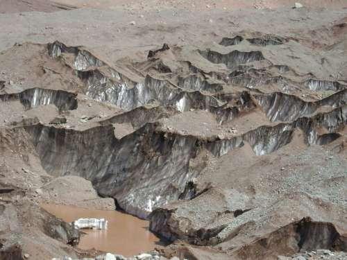 Glacier Mendoza Water Landscape