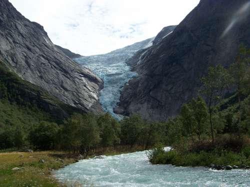 Glacier Norway Landscape